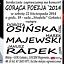 Koncert Doroty Osińskiej, Janusza Radka, oraz Marka Majewskiego GORĄCA POEZJA 2014'