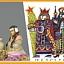 Wystawy - Miniaturowe szopki z całego świata,  Pocztówkowy pokłon Trzech  Króli