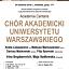 Academia Cantans - Interpretacje muzyki chóralnej
