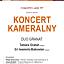Koncert kameralny Duo Granat na Uniwersytecie Muzycznym