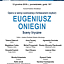 Eugeniusz Oniegin - sceny liryczne. Opraw w wersji scenicznej z fortepianem