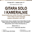 Gitara solo i kameralnie - koncert na Okólniku