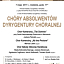 Chóry absolwentów Dyrygentury Chóralnej