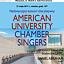 American University Chamber Singers - koncert w Uniwersytecie Muzycznym