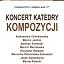 Koncert Katedry Kompozycji