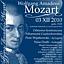 Koncert w 219. rocznicę śmierci Wolfganga Amadeusa Mozarta