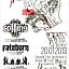 BROKEN NECK VOL.1 / koncert / K.A.S.K. / FATEBORN / COFFINS / 20.01 // dwaPIĘTRA