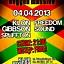 4.04.2013 Reggae Massive feat. Klon Gibbson Spliffton & FreedomSound w Remoncie