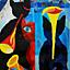 Bogna Hiszpańska - UROKI - mozaiki i malarstwo - Galeria Schody - 6-17 maja 2013