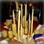Warsztaty tworzenia świec z węzy (wosku pszczelego)