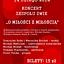 """Koncert Walentynkowy """"O Miłości z Miłością"""" w Klubie Barometr"""