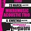 Koncert Micromusic Acoustic Trio w Klubie Gwarek!