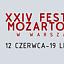 XXIV Festiwal Mozartowski w Warszawie / Koncert symfoniczny