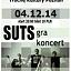 SUTS gra zimowy koncert |04.12.14| Trochę Kultury Poznań