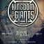 KINGDOM OF GIANTS (USA) + BURNING DOWN ALASKA (DE) + APRIL IN PIECES + NETHERLESS