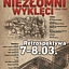 """Festiwal filmów dokumentalnych """"Niepokorni, Niezłomni, Wyklęci 1944-1989"""""""