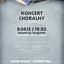 Koncert chóralny