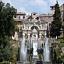 Villa d'Este w Tivoli – ogród śpiewających fontann. Wykład.