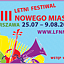 VIII Letni Festiwal Nowego Miasta - inauguracja