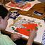Wzorzyste, kwieciste tapety w pałacu w Wilanowie - warsztaty dla dzieci