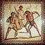 Igrzyska panhelleńskie, walki gladiatorów- sport i rozgrywka w przeszłości.