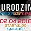 5 Urodziny Poznańskiej Sceny Klubowej - Stiu B-Day Party lista Fb 23 Free