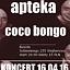 APTEKA & COCO BONGO |16.04.16| WEJHEROWO