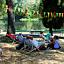 Leżakowanie w parku wilanowskim