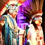Muzyczne show Amerykańskich Indian Inka Orkiestra El Dorado