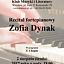 Recital fortepianowy Zofii Dynak