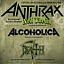 FistFul Of Alcoholica Tour Poland 2018: NEIL TURBIN (voc. ANTHRAX), ALCOHOLICA, DEATH REVIVAL