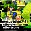 Hokus-pokus, Albercie Albertsonie