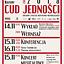CUD JEDNOŚCI - konferencja, wystawa, koncert musicalowy