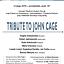 Tribute to John Cage - koncert w Uniwersytecie Muzycznym