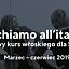 Giochiamo all'italiano – ruchowy kurs włoskiego dla Seniorów