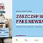 Zaszczep się na fake newsa – warsztaty w Mediatece