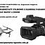 warsztaty filmowe z kamerą Panasonic HC-X1 i dronem DJI Mavic 2 ZOOM