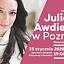 JULIANNA AWDIEJEWA W POZNANIU. Koncert Charytatywny Fundacji CHCEmisie