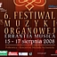 VI Festiwal Muzyki Organowej